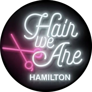 Hair We Are in Hamilton logo